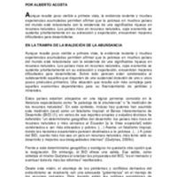 Extractivismo y neoextractivismo, dos caras de la misma maldición, Acosta.pdf