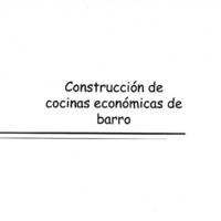 Construcción de hornos y cocinas económicas