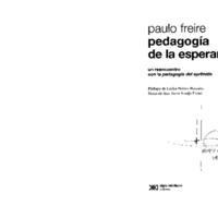 Pedagogia de la Esperanza, Freire.PDF