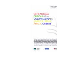 Genealogías críticas de la colonialidad, Bidaseca, coord..pdf