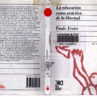 Educacion Como Practica de la Libertad, Freire.PDF
