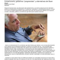 Extractivismo, gobiernos progresistas y alternativas al Buen Vivir, entrevista a Gudynas.pdf