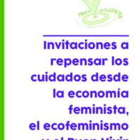 Invitaciones a repensar los cuidados desde la economía feminista, el ecofeminismo y el Buen Vivir, Silva Leis.pdf