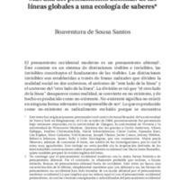 Más allá del pensamiento abismal, Sousa Santos.pdf