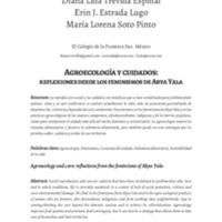 Agroecología y cuidados: reflexiones desde los feminismos de Abya Yala